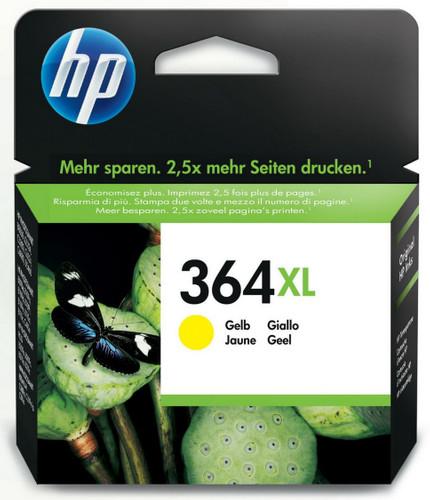 HP 364XL Cartridge Geel (CB325EE) Main Image
