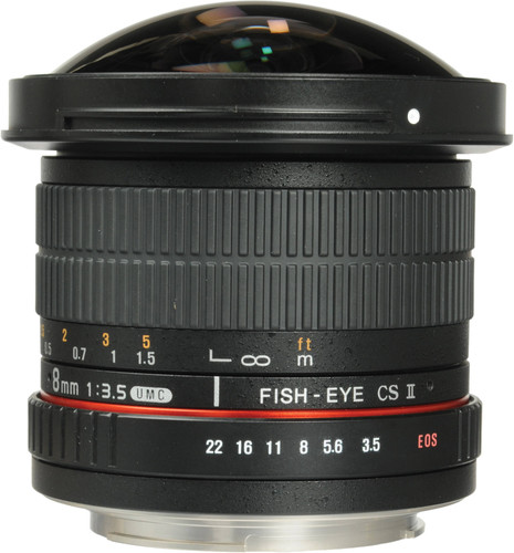 Samyang EF-S 8mm f/3.5 Fisheye MC CSII Canon Main Image