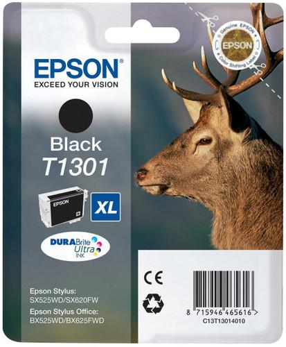 Epson T1301 XL Ink Cartridge Black C13T13014010 Main Image