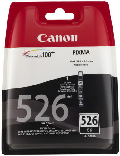 Canon CLI-526BK Cartridge Photo black (4540B006) Main Image