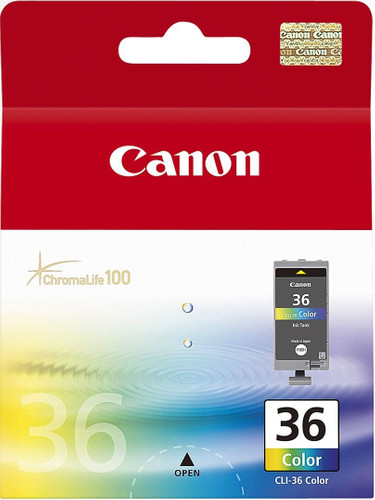Canon CLI-36 Color Ink Cartridge (kleur) (1511B001) Main Image