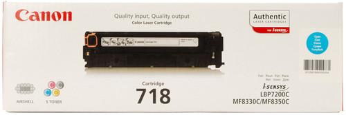 Canon CRG-718 Toner Cyan (2661B002) Main Image