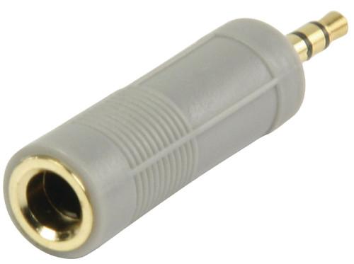 Bandridge Hoofdtelefoonadapter 6,3 mm naar 3,5 mm Main Image