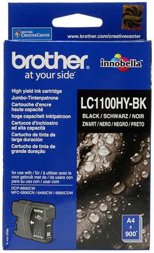 Brother LC-1100HYBK XL Black High Quality Ink Main Image