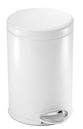 Simplehuman Roundstep Stainless Steel 4.5L White Main Image