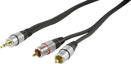 HQ 3.5mm to RCA cable 1.5 meters Main Image
