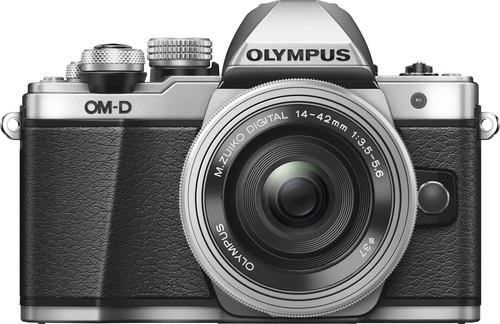 Olympus OM-D E-M10 Mark II Zilver + 14-42mm EZ Main Image