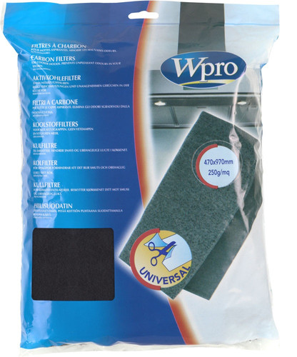 Wpro Carbon Filter Anti-Odor 47x97cm Main Image