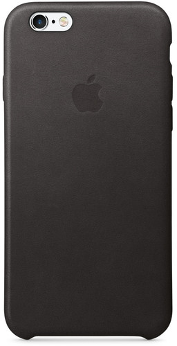 Apple iPhone 6/6s Leather Case Black Main Image