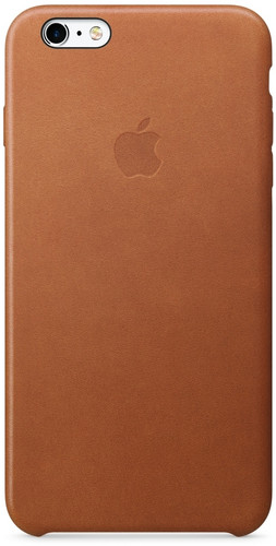 Apple iPhone 6s Plus Leather Case Saddle Brown Main Image