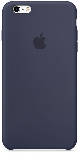 Apple iPhone 6s Plus Silicone Case Blauw Main Image