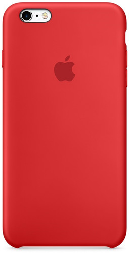 Apple iPhone 6/6s Silicone Case Rood Main Image