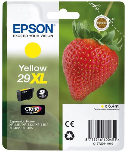 Epson 29 Cartridge Yellow XL (C13T29944010) Main Image