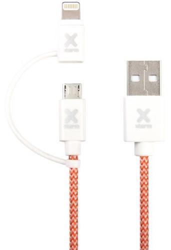 Xtorm (A-Solar)Dual Kabel Lightning/Micro USB 1m Main Image