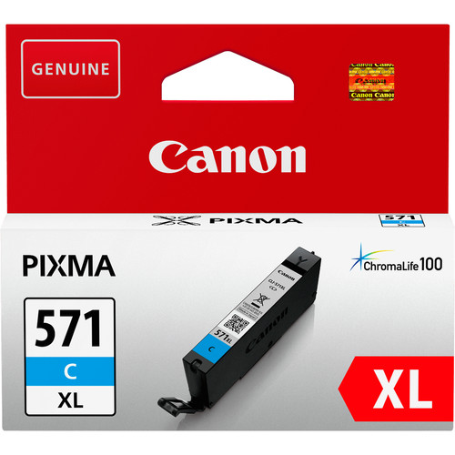 Canon CLI-571XL Cartridge Cyaan (0332C001) Main Image