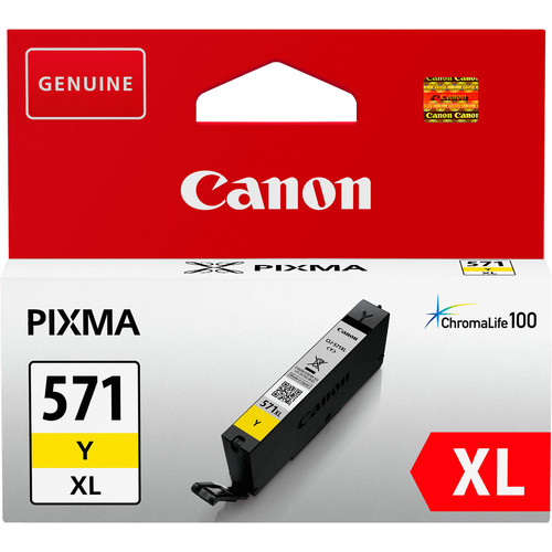 Canon CLI-571XL Cartridge Geel (0334C001) Main Image
