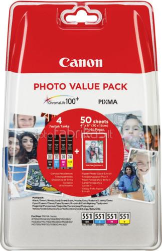 Canon CLI-551 Value Pack (6508B005) Main Image