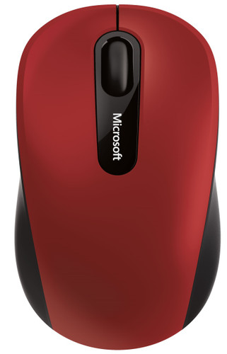 Microsoft Wireless Mobile Mouse 3600 Red Bluetooth