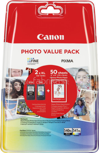 Canon PG-540XL/CL-541XL Value Pack (5222B013) Main Image