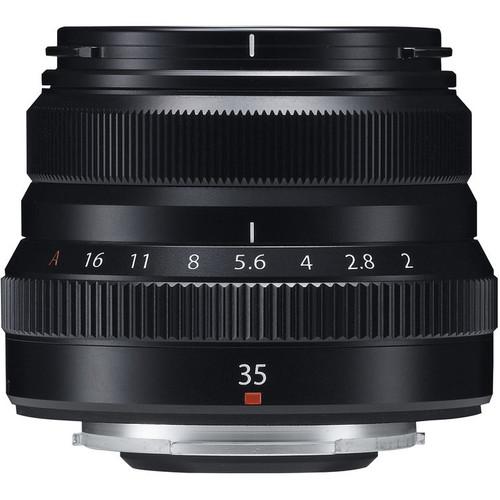 Fujifilm XF 35mm f/2.0 R WR Zwart Main Image
