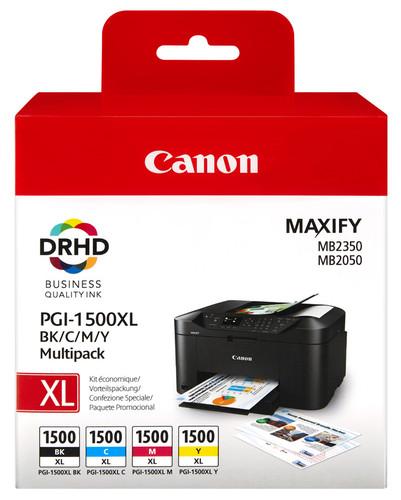 Canon PGI-1500XL 4-Kleuren Pack (9182B004) Main Image