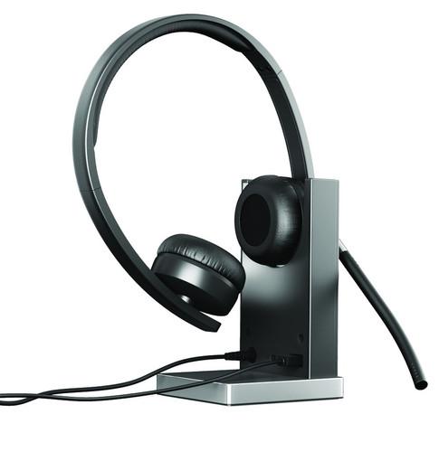 Logitech Wireless Headset Dual H820e Black Main Image