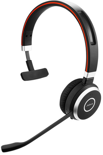 Jabra Evolve 65 UC Mono Draadloze Office Headset Main Image