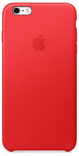 Apple iPhone 6s Plus Leather Case Red Main Image
