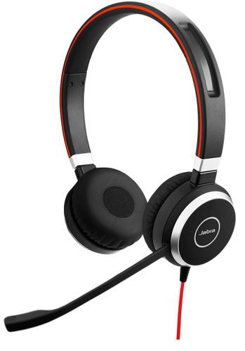 Jabra Evolve 40 UC Stereo Bedrade Office Headset Main Image
