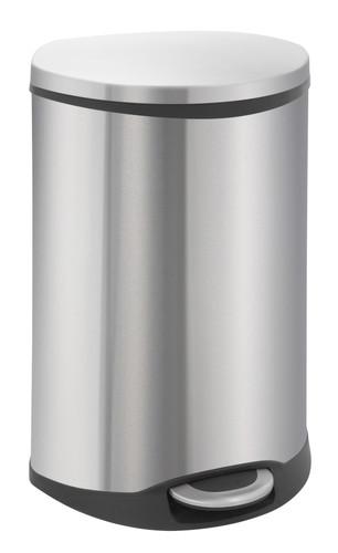 Brabantia Touch Bin 50 Liter Rvs.Eko Shell Bin 50 Liter Matte Stainless Steel