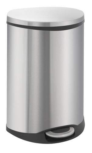 EKO Shell Recycling Bin 22 + 22 Liter Mat RVS Main Image