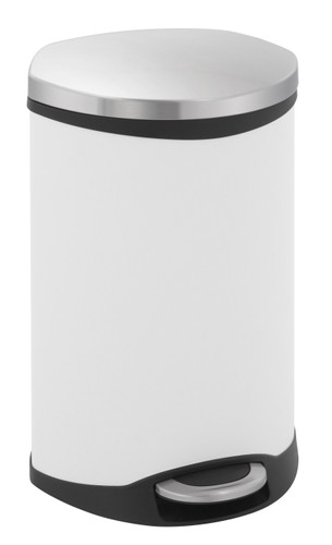 EKO Shell Recycling Bin 22 + 22 Liter Wit Main Image