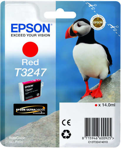 Epson T3247 Cartridge Red (C13T32474010) Main Image