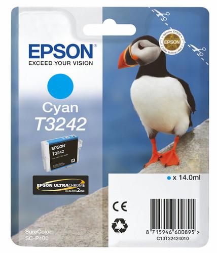 Epson T3242 Cartridge Cyan (C13T32424010) Main Image