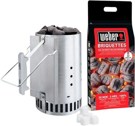 Weber Briquette Starter Set Main Image