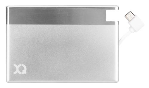 Xqisit Ultra Slim Powerbank 1350 mAh Micro USB Zilver Main Image