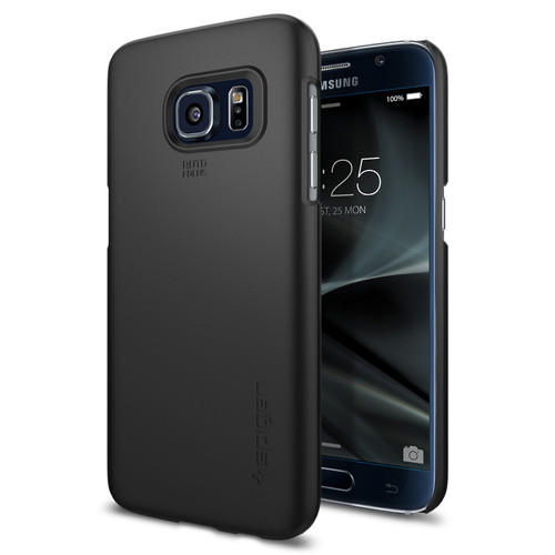 Spigen Thin Fit Samsung Galaxy S7 Black Main Image