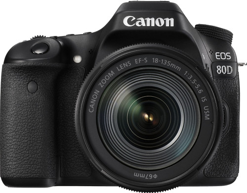 Canon EOS 80D + 18-135mm IS USM Main Image