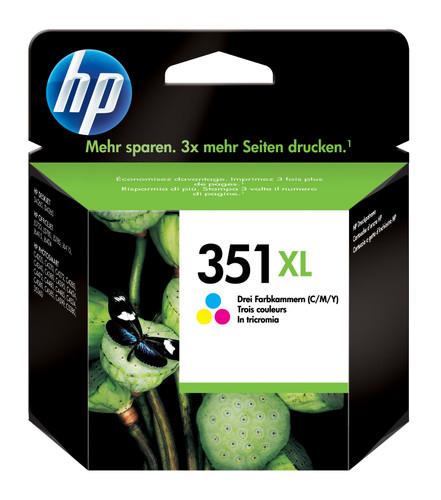 HP 351XL Combo Pack 3-Kleuren (HPCB338E) Main Image