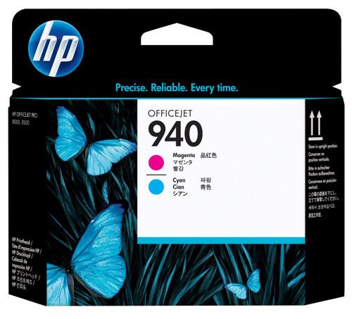 HP 940 Printkop Magenta/Cyan (rood/blauw) C4901A Main Image