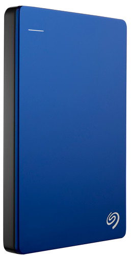 Seagate Backup Plus Slim 1TB Blue Main Image