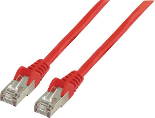 Valueline Netwerkkabel FTP CAT6 0,5 meter Rood Main Image