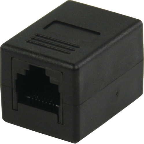 Valueline RJ45 CAT6 Coupler Black Main Image