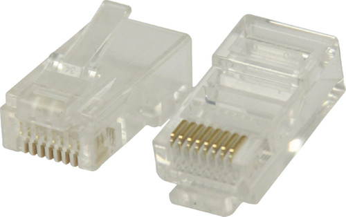 Valueline UTP CAT6 Network Plug Transparent 5 units Main Image