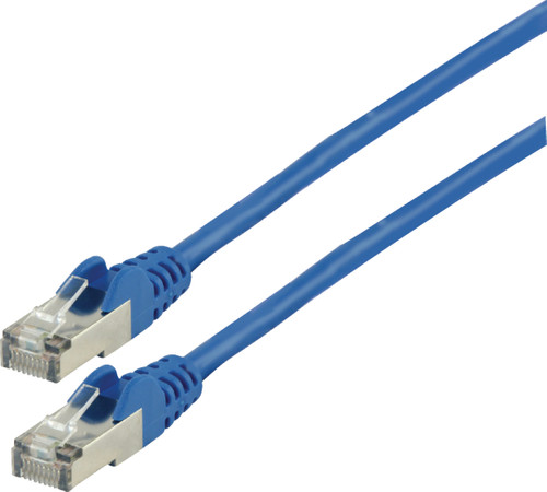 Valueline Netwerkkabel FTP CAT6 0,5 meter Blauw Main Image