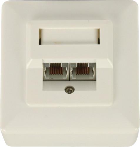 Valueline RJ45 socket outlet Main Image