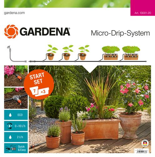 Gardena Micro Drip Start Set M Bloembakken Main Image