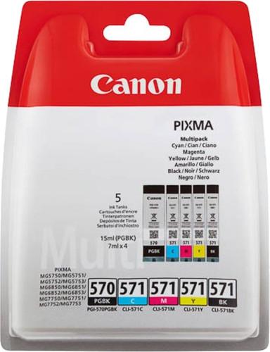 Canon PGI-570/CLI-571 Cartridges Combo Pack Main Image
