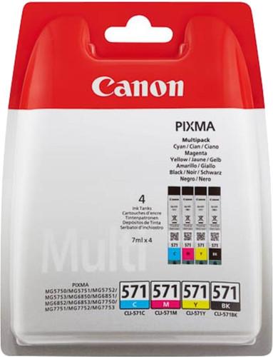 Canon CLI-571 Cartridges Combo Pack Main Image