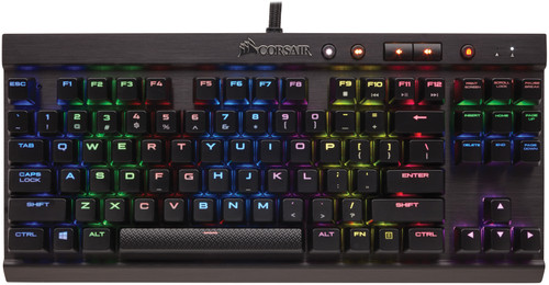 Corsair K65 LUX RGB Cherry MX Red QWERTY Main Image